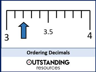 Ordering Decimals, Fractions and Percentages (+ Worksheet)