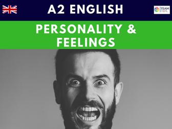 Personality & Feelings A2 Pre-Intermediate ESL Lesson Plan