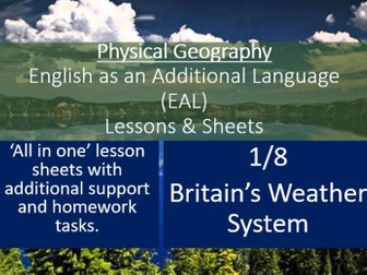 Geography - EAL Lesson - Britain's Weather - EAL Resources 1/8