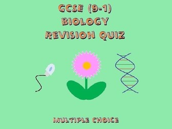 GCSE Biology Revision Quiz