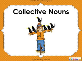 Collective Nouns - Year 3 and 4