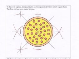 GCSE Maths - 10 Loci and Construction Questions with answers.