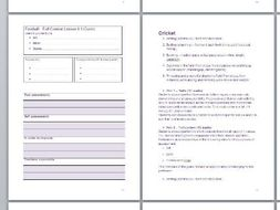 Key Stage 3 PE Physical Education Assessment Booklet