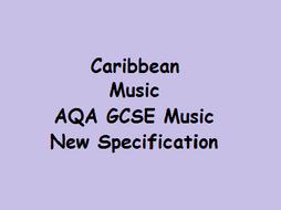 Caribbean Music - AQA GCSE Music - New Specification
