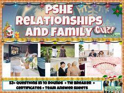 PSHE Family Christmas Quiz