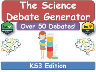 The KS3 Science Debate Generator