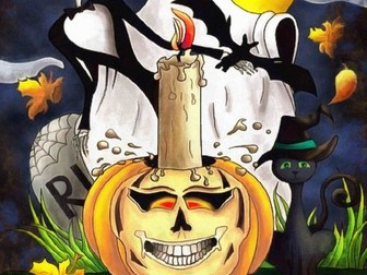 Halloween Functional Skills English Entry Level 3: Speaking + Listening Revision Activity