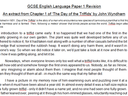 AQA GCSE English Language: four mock Paper 1s