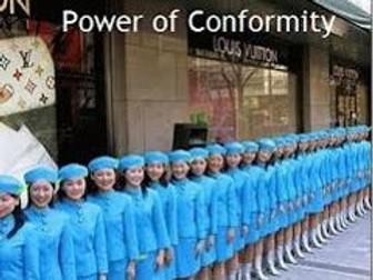 AQA AS Conformity
