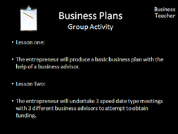 different business plans