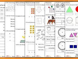 Baseline Assessment for Year 2 Mathematics