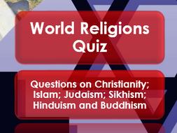 World Religions: Quiz