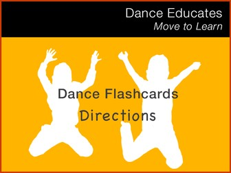 Dance Flashcard: Directions