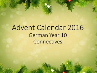 Advent Connectives