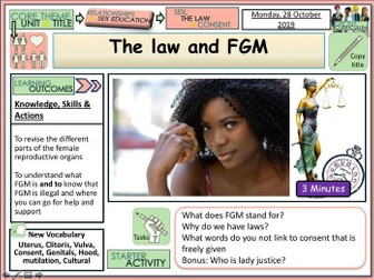 FGM and the Law