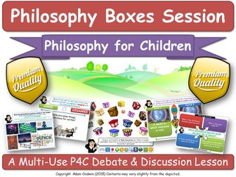 "KS1-3: Political Philosophy (P4C) ""Big Issues in Politics"" [Philosophy Boxes] Debates & Discussions"
