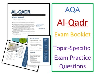 AQA Islam Beliefs: Al-Qadr Predestination - Exam Booklet
