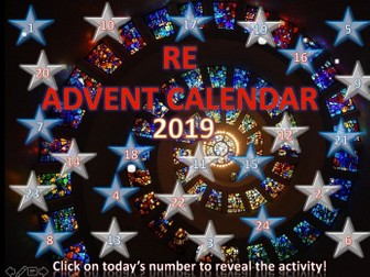 RE Christmas Quiz Advent Calendar 2019