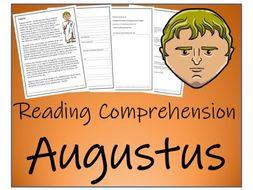 UKS2 History - Augustus Reading Comprehension Activity