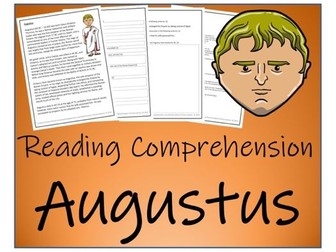 UKS2 History - Augustus Reading Comprehension Activity