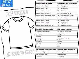 Tour de France: design your own jersey