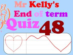 Mr Kelly's Fun Maths Reward Quiz 48