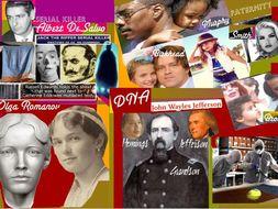 Solving Cases Using DNA ~ Romanovs ~ Jack Ripper ~ Boston Strangler ~ 82 Slides + Test  + FCs