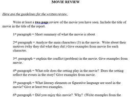 Argumentative Essay Thesis Statement Examples Moviebook Review Multiparagraph Essay Format How To Write A Research Essay Thesis also Essay On The Yellow Wallpaper Moviebook Review Multiparagraph Essay Format By Zelayaa  Teaching  Essay For High School Students