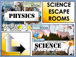 Physics Escape Rooms - Science