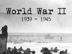 Phoney War in World War 2- pupils prepare for War with a