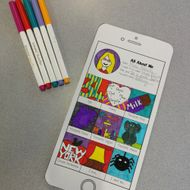 All About Me Phone (Transition/Back to School Activity)
