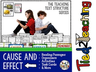 Cause and Effect - Activities Printables Reading Passages