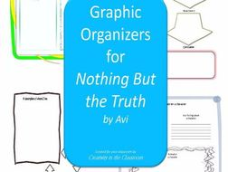 Graphic Organizers Plus Crossword Puzzles for Nothing But the Truth by Avi