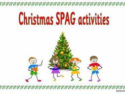 KS2 Christmas SPAG activity booklet.