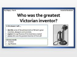 Industrial Revolution - Inventors and Inventions