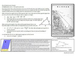 Edexcel C1/C2 Revision Cards