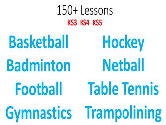 PE NQT 150+ Lesson Starter Pack