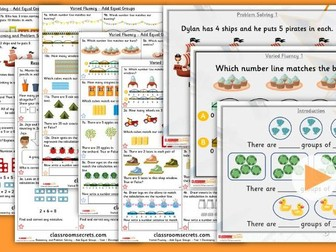 Year 1 Add Equal Groups Summer Block 1 Lesson Pack