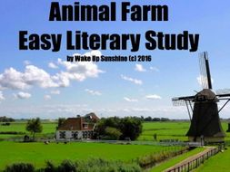 Animal Farm Easy Literary Study