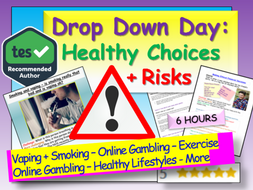 Healthy Choices and Risks Drop and Down Day