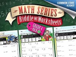 grade year  math worksheets multiskill worksheets  math  grade year  math worksheets multiskill worksheets  math riddles by  classcrown  teaching resources  tes