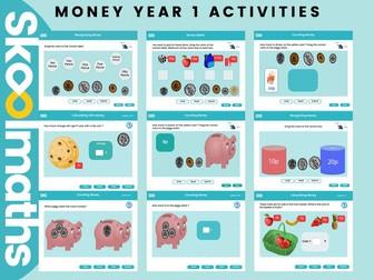 Money - Year 1 Activities