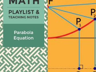 Parabola Equation - Playlist and Teaching Notes
