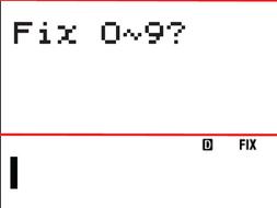 CASIO fx 85/83 Rounding to decimal places
