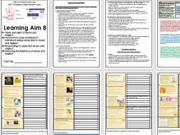 BTEC Level 3 Health and Social Care; Unit 7 Principles of Safe Practice LAB  resources
