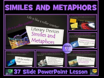 Similes and Metaphors : PowerPoint Lesson
