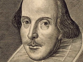 Introduction to Shakespeare's Language - ANY PLAY - (Handout + Worksheet + ANSWERS)