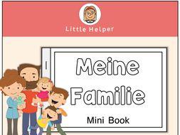 German Mini Book - Meine Familie