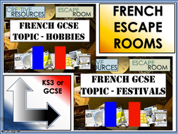 French GCSE Escape Rooms - MFL Revision