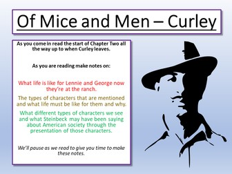 Of Mice and Men - Curley
